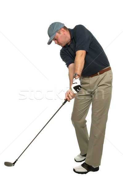 Stock photo: Golf Head down