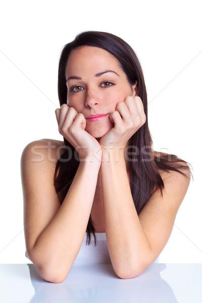 природного портрет привлекательный брюнетка женщину Сток-фото © RTimages