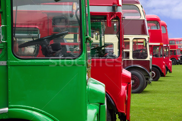 Old London buses Stock photo © RTimages