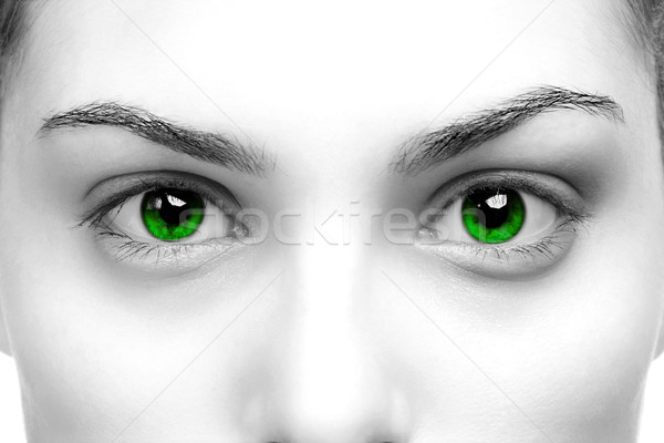 Green eyes Stock photo © RTimages