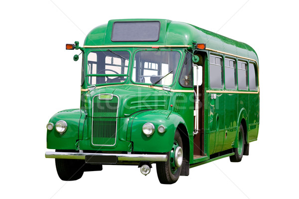 Old green bus Stock photo © RTimages