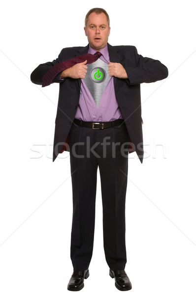 Businessman On/Off Stock photo © RTimages