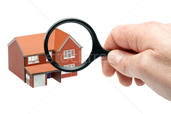 Examining a house Stock photo © RTimages