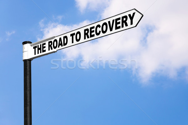 The road to recovery Stock photo © RTimages