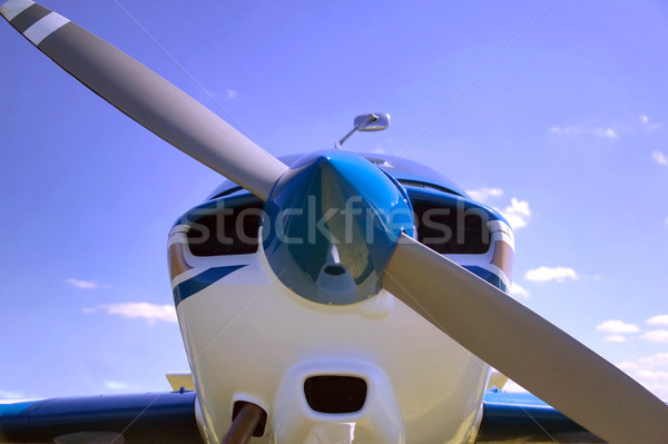 Aircraft nose cone. Stock photo © RTimages
