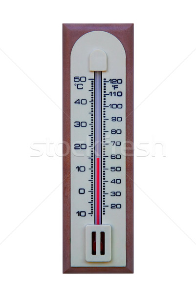 Plastic thermometer Stock photo © RTimages