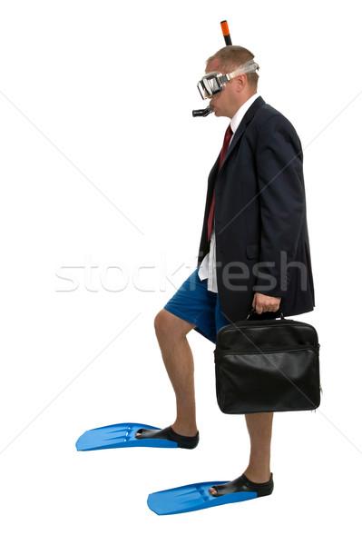 üzlet utazó üzleti út kép üzletember viselet Stock fotó © RTimages