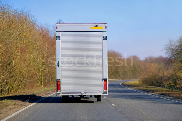 Shutter van delivery Stock photo © RTimages