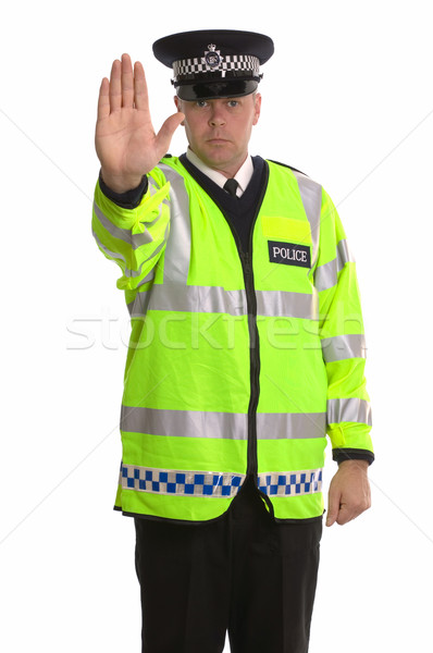 Police traffic stop Stock photo © RTimages