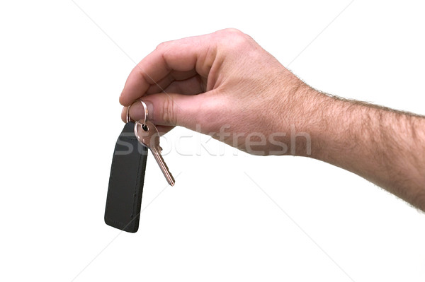 Handing over the keys Stock photo © RTimages