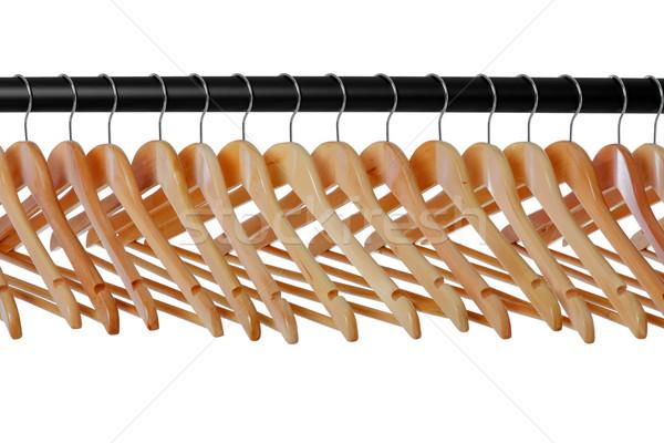木製 コート レール 行 服 ファッション ストックフォト © RTimages