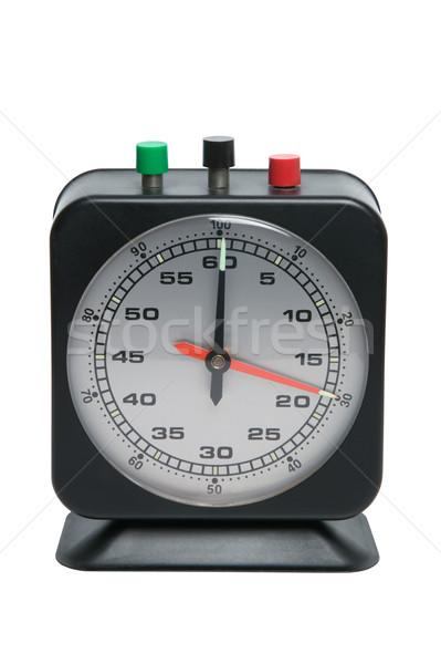 таймер часы изолированный белый время Сток-фото © RTimages