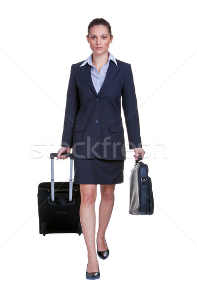 Businesswoman traveller Stock photo © RTimages