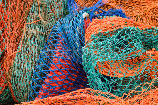 Fishing nets Stock photo © RTimages