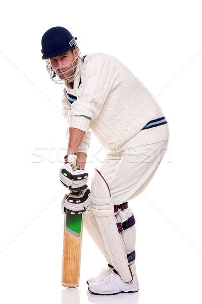 Cricketer Stock photo © RTimages
