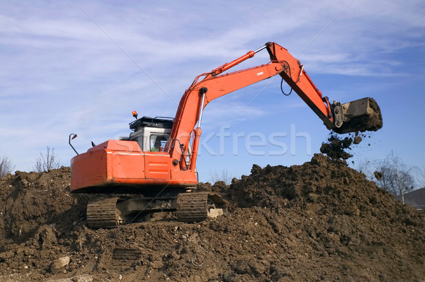 Digger #2 Stock photo © RTimages