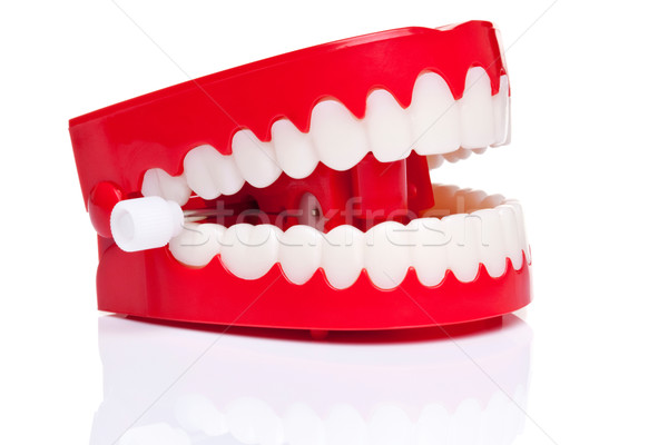 Chattering teeth Stock photo © RTimages