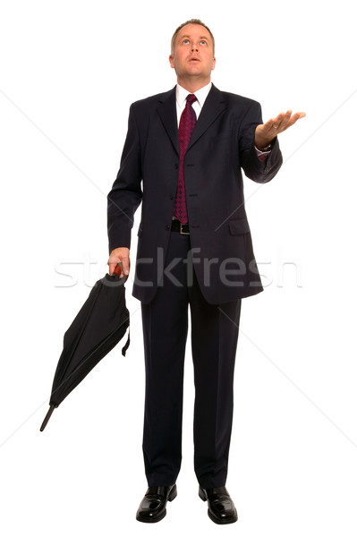 Businessman Forecast Stock photo © RTimages