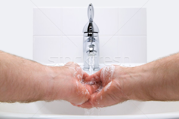 Wash your hands Stock photo © RTimages