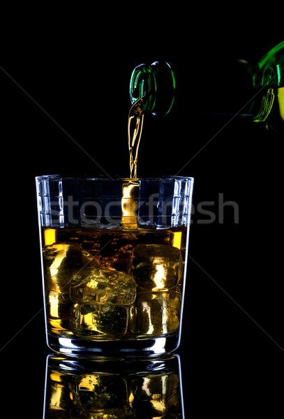 Whiskey being poured Stock photo © RTimages