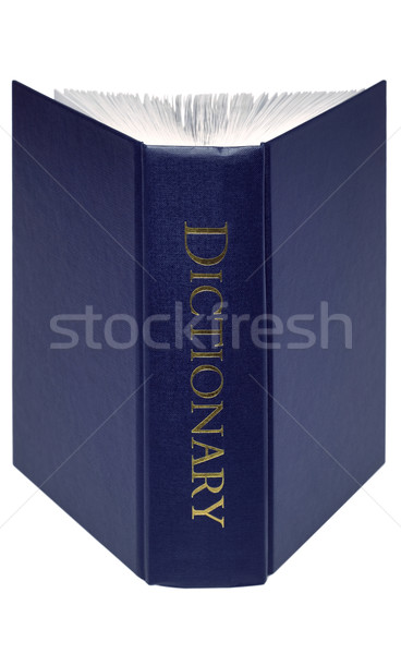 Open Dictionary isolated  Stock photo © RTimages