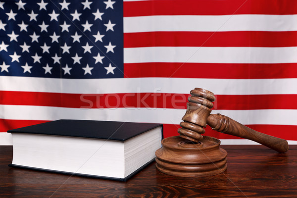 American law Stock photo © RTimages