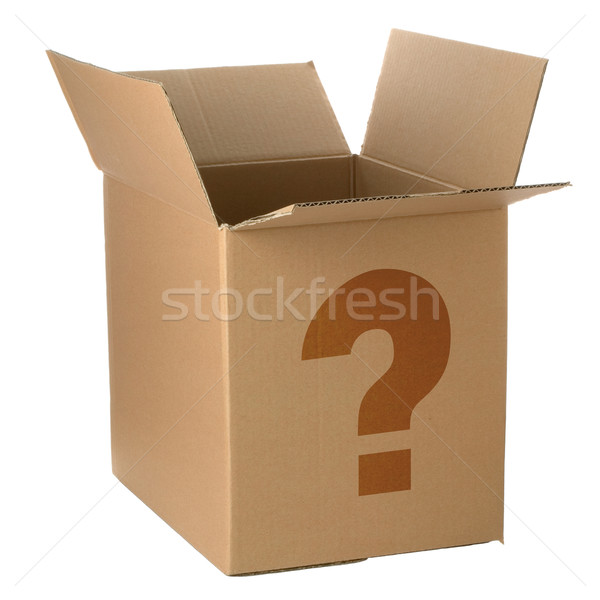 Whats in the box Stock photo © RTimages