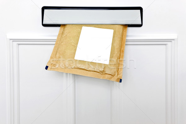 Letterbox and padded envelope Stock photo © RTimages