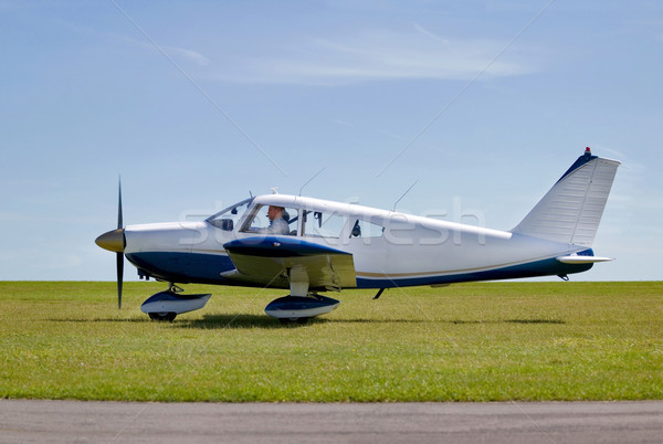 Light aircraft take off Stock photo © RTimages