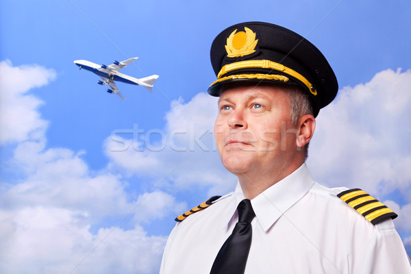 Airline pilot Stock photo © RTimages
