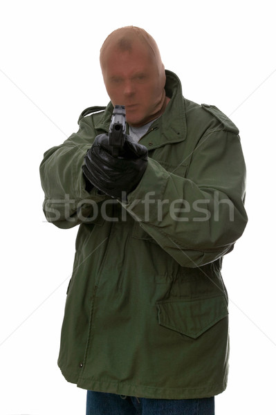 Armed robber Stock photo © RTimages