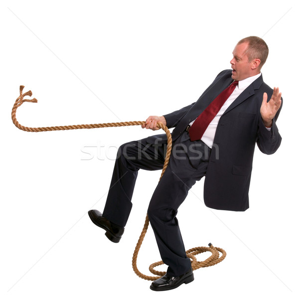 Businessman falling  Stock photo © RTimages