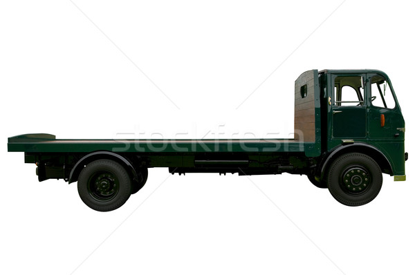 Vintage Flatbed lorry Stock photo © RTimages