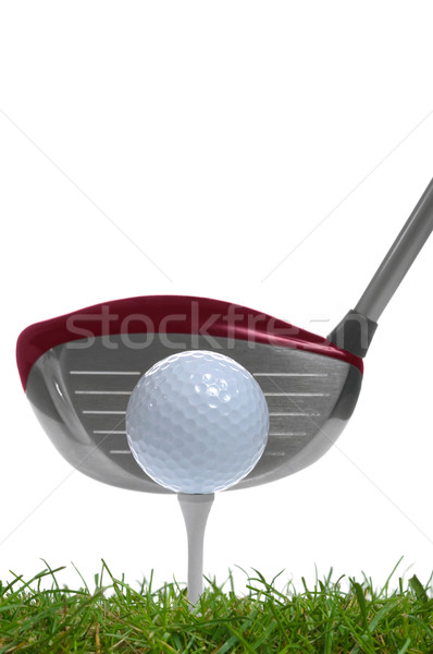 Tee shot driver Stock photo © RTimages