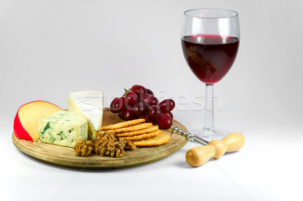 Cheese and Wine Stock photo © RTimages