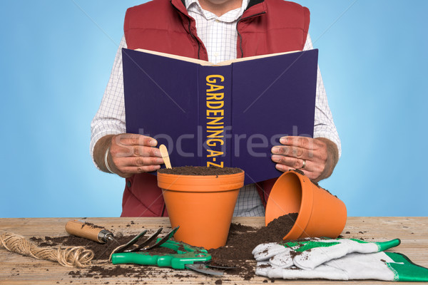 Gardening A-Z Stock photo © RTimages