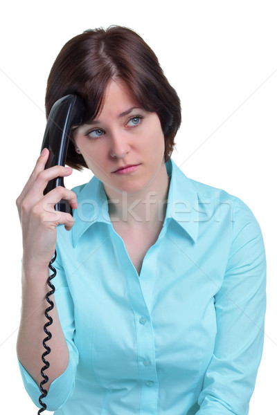 Woman on the telephone Stock photo © RTimages