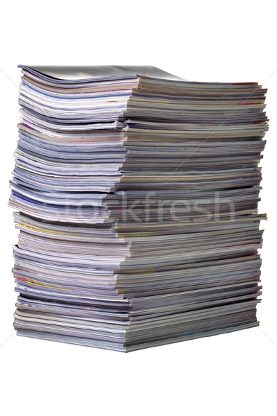Magazine pile Stock photo © RTimages
