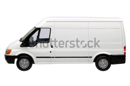 White van side Stock photo © RTimages