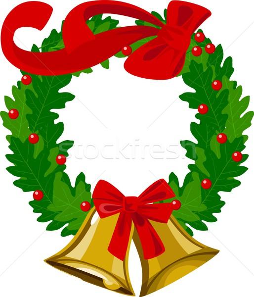Christmas ozdoba czas wektora dekoracyjny projektu Zdjęcia stock © rudall30