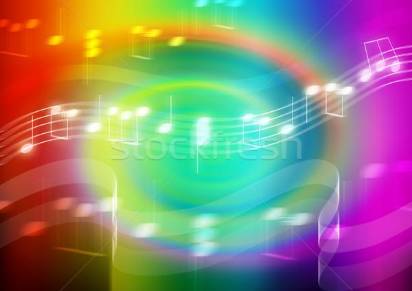 Evrensel dil soyut örnek simge müzik Stok fotoğraf © rudall30