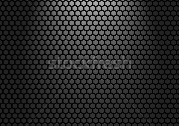 Metal parede estoque imagem escuro fundo Foto stock © rudall30