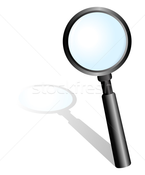 Magnifying Glass Stock photo © rudall30