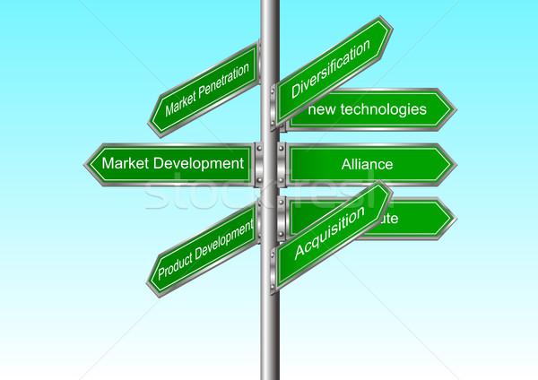 Marketing Direction Stock photo © rudall30