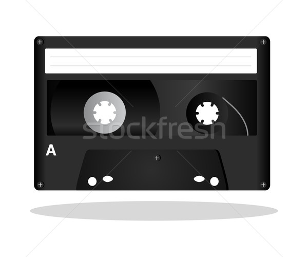 Black Cassette Stock photo © rudall30