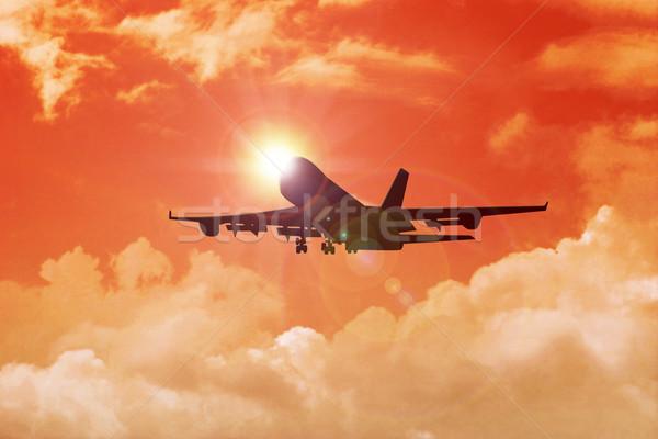 Airplane Stock photo © rudall30