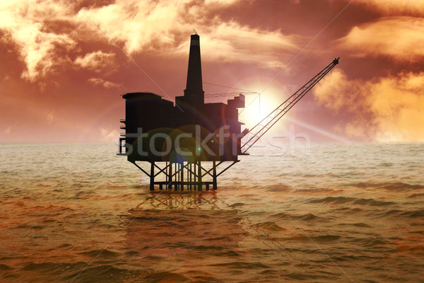 Offshore Stock photo © rudall30