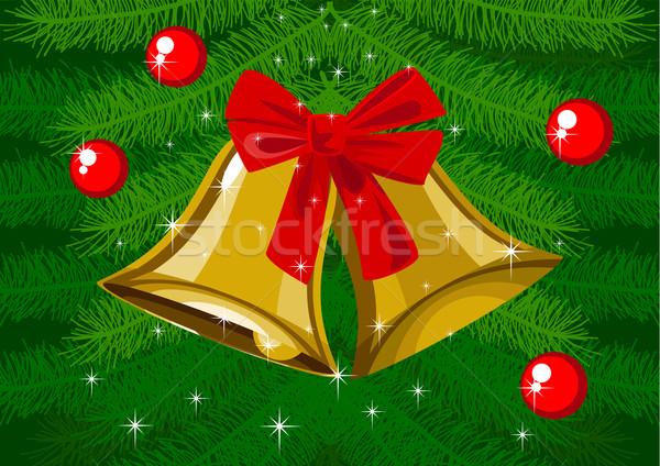 Navidad · Stock · Vector · Cinta · Pino · Diseno