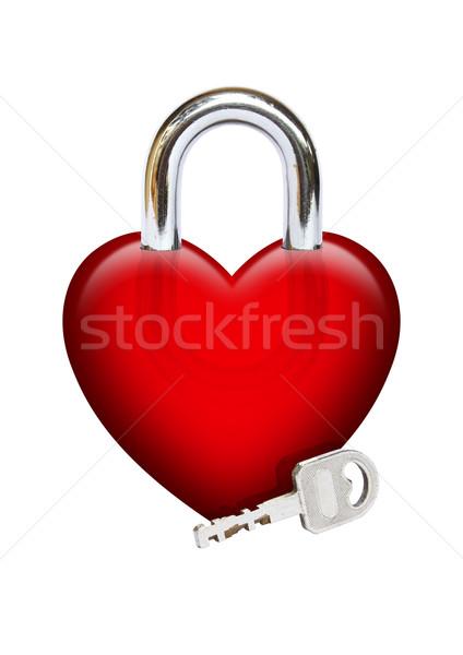 Padlock Heart Stock photo © rudall30