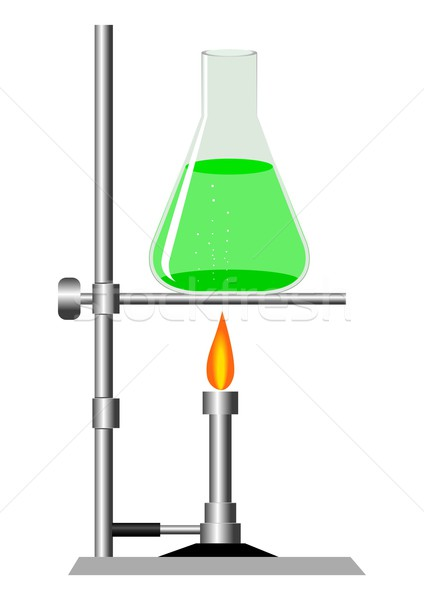 Pesquisa estoque vetor laboratório equipamento vidro Foto stock © rudall30